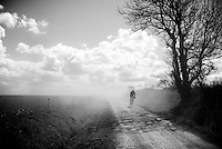 lonely dust-rider at the 33th Tro Bro Léon 2016