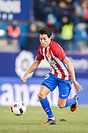 Nicolas Gaitan of Atletico de Madrid in action during their Copa del Rey 2016-17 Quarter-final match between Atletico de Madrid and SD Eibar at the Vicente Calderón Stadium on 19 January 2017 in Madrid, Spain. Photo by Diego Gonzalez Souto / Power Sport Images