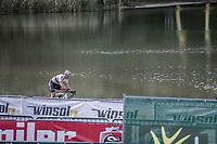 World Champion Wout Van Aert (BEL/Crelan CHarles) <br /> <br /> cx Telenet Superprestige Gieten 2017 (NED)