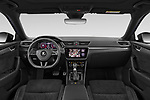Stock photo of straight dashboard view of 2020 Skoda Superb-Combi Sportline 5 Door Wagon Dashboard