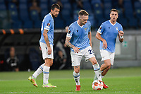 30th September 2021;  Stadio Olimpico, Rome, Italy;Europa League Football, SS Lazio versus Lokomotiv Moscow: Manuel Lazzari of SS Lazio