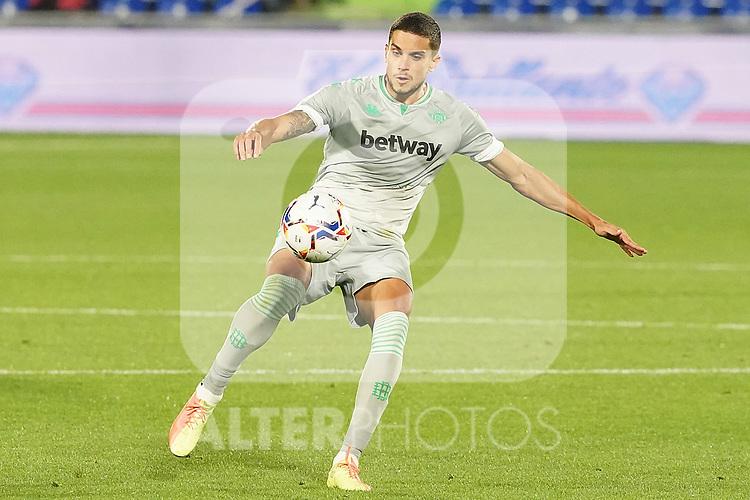 Real Betis Balompie's Marc Bartra during La Liga match. September 29,2020. (ALTERPHOTOS/Acero)