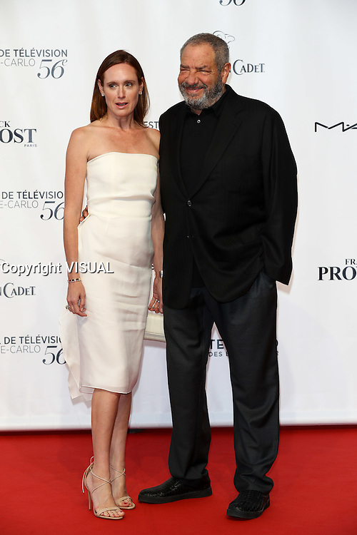 56th Monte-Carlo Television Festival opening red carpet. Dick Wolf and wife.