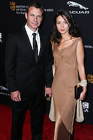 BEVERLY HILLS, CA, USA - OCTOBER 30: Chris Vance, Moon Vance-Dailly arrive at the 2014 BAFTA Los Angeles Jaguar Britannia Awards Presented By BBC America And United Airlines held at The Beverly Hilton Hotel on October 30, 2014 in Beverly Hills, California, United States. (Photo by Xavier Collin/Celebrity Monitor)