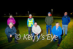 Camp Community Council members on the walking track - one of the new additions to the facilities at the Camp Community Centre on Saturday. Kneeling l to r: Seamus Griffin, Thomas Ashe and Martin Quirke. Standing l to r: Mary Knightly, Bridget O'Connor, Conor Slattery and Gene Finn