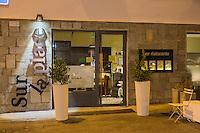 Italie, Val d'Aoste, Aoste:  Restaurant : Sur la place, Piazza Giovanni XXIII 8 (Piazza della Cathédrale) // Italy, Aosta Valley, Aosta: Restaurant : Sur la place,