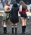 © Joel Goodman - 07973 332324 . 12/06/2016 . Manchester , UK . Revellers at the Parklife music festival at Heaton Park in Manchester . Photo credit : Joel Goodman