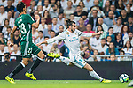 Gareth Bale of Real Madrid in action during the La Liga 2017-18 match between Real Madrid and Real Betis at Estadio Santiago Bernabeu on 20 September 2017 in Madrid, Spain. Photo by Diego Gonzalez / Power Sport Images