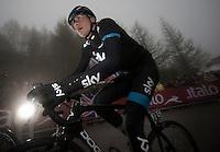 2013 Giro d'Italia.stage 14: Cervere - Bardonecchia.168km..Danny Pate (USA)