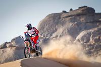 4th January 2021; Dakar Rally stage 2;  #20 Tomiczek Adam (pol), Husqvarna, Orlen Team, Moto, Bike, action during the 2nd stage of the Dakar 2021 between Bisha and Wadi Al Dawasir, in Saudi Arabia on January 4, 2021