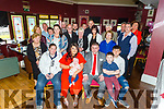 The christening Leyla May Connolly from Tralee party of in O'Donnells Bar, Mounthawk on Sunday.<br />  Seated l to r: Ann Bailey, Laura Considine, baby Leyla, Kevin, Shane and Liam Connolly