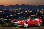 Mitsubishi Lancer Evolution MR Sedan 2009