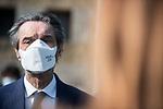 Emergenza Coronavirus - Attilio Fontana a Chiari e Brescia