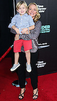 HOLLYWOOD, LOS ANGELES, CA, USA - OCTOBER 06: Beckett Edward Packham, Nicole Sullivan arrive at the World Premiere Of Disney's 'Alexander And The Terrible, Horrible, No Good, Very Bad Day' held at the El Capitan Theatre on October 6, 2014 in Hollywood, Los Angeles, California, United States. (Photo by Xavier Collin/Celebrity Monitor)