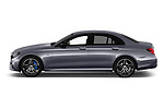 Car driver side profile view of a 2018 Mercedes Benz E Class Base 4 Door Sedan