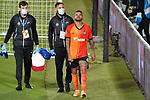 FC Shakhtar Donetsk's Dentinho injured during UEFA Champions League match. October 20,2020.(ALTERPHOTOS/Acero)