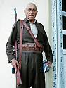 Iraq 2014 <br /> Hamid Effendi, peshmerga's leader, with his gun Brno <br /> Irak 2014 <br /> Hamid Effendi, chef de peshmergas a son quartier general de Dubardan avec son fusil Brno