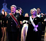 """Darrell Hammond and Carol Kane during the Curtain Call for the closing Night performance of  Encores! """"Call Me Madam"""" at City Center on February 10, 2019 in New York City."""