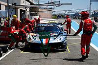 #88 AF CORSE (ITA) - FERRARI F488 GTE EVO – LMGTE – FRANÇOIS PERRODO (FRA) / EMMANUEL COLLARD (FRA)/ ALESSIO ROVERA (ITA)