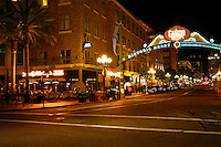 The Gaslamp District, Downtown San Diego, California