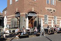 Restaurant Bänken in der ehemaligen Reichsbank am Stora Torg in Kristianstad, Provinz Skåne (Schonen), Schweden, Europa<br /> restaurant Bänken in former reichsbank at Stora Torg  in Kristianstad, Province Skåne, Sweden