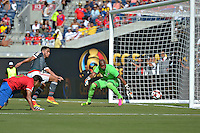 Action photo during the match Costa Rica vs Paraguay, Corresponding Group -A- America Cup Centenary 2016, at Citrus Bowl Stadium<br /> <br /> Foto de accion durante el partido Estados Unidos vs Colombia, Correspondiante al Grupo -A-  de la Copa America Centenario USA 2016 en el Estadio Citrus Bowl, en la foto:  Patrick Pemberton de Costa Rica<br /> <br /> <br /> 04/06/2016/MEXSPORT/Isaac Ortiz.