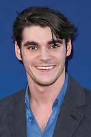 """HOLLYWOOD, LOS ANGELES, CA, USA - APRIL 29: RJ Mitte at the Los Angeles Premiere Of TriStar Pictures' """"Mom's Night Out"""" held at the TCL Chinese Theatre IMAX on April 29, 2014 in Hollywood, Los Angeles, California, United States. (Photo by Xavier Collin/Celebrity Monitor)"""
