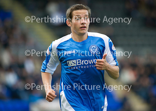 St Johnstone v Dundee United....01.09.12      SPL  .Peter Pawlett.Picture by Graeme Hart..Copyright Perthshire Picture Agency.Tel: 01738 623350  Mobile: 07990 594431