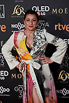 Mariola Fuentes attends to 33rd Goya Awards at Fibes - Conference and Exhibition  in Seville, Spain. February 02, 2019. (ALTERPHOTOS/A. Perez Meca)