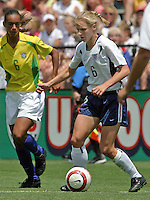 Lidsay Tarpley.US Women's National Team vs Brazil at Legion Field in Birmingham, Alabama.