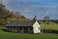 BNPS.co.uk (01202 558833)<br /> Pic: ZacharyCulpin/BNPS<br /> <br /> Pictured: Broadwindsor Cricket Club house<br /> <br /> One of the most picturesque cricket grounds in England has been saved from developers after a village club raised £50,000 to buy it.<br /> <br /> Broadwindsor Cricket Club had leased the idyllic Middleton-Hands Ground in Dorset for a peppercorn rent from a local family since 1965.<br /> <br /> But they were hit for six last year when descendants of the late cricket-loving landowners gave them notice to vacate the venue and remove the pavilion.