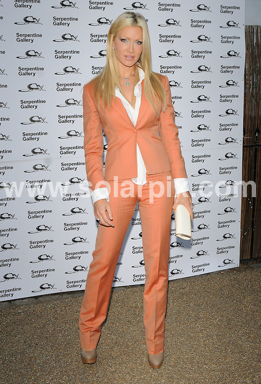 **ALL ROUND PICTURES FROM SOLARPIX.COM**.**WORLDWIDE SYNDICATION RIGHTS**.Outside arrivals at the Serpentine art gallery Summer Party 2009.  Held at the Serpentine, Hyde Park, London, UK. July 08, 2009...This pic: Caprice..JOB REF: 9463 SSD     DATE: 09_07_2009.**MUST CREDIT SOLARPIX.COM OR DOUBLE FEE WILL BE CHARGED**.**ONLINE USAGE FEE GBP 50.00 PER PICTURE - NOTIFICATION OF USAGE TO PHOTO @ SOLARPIX.COM**.**CALL SOLARPIX : +34 952 811 768 or LOW RATE FROM UK 0844 617 7637**