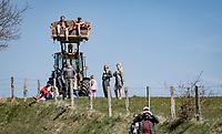 roadside fans<br /> <br /> 107th Liège-Bastogne-Liège 2021 (1.UWT)<br /> 1 day race from Liège to Liège (259km)<br /> <br /> ©kramon