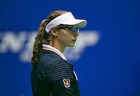 18-12-13,Netherlands, Rotterdam,  Topsportcentrum, Tennis Masters, , Lineswoman    <br /> Photo: Henk Koster