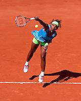 24-05-10, Tennis, France, Paris, Roland Garros, First round match, Serena Williams