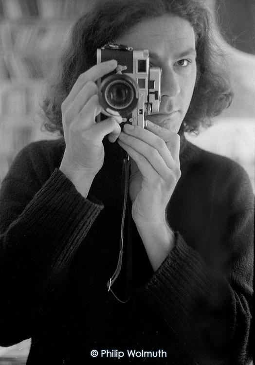 Self-portrait with Leica M3, circa 1979.