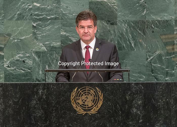 72 General Debate – 25th of September  2017<br /> <br /> H.E. Tore HATTREM<br /> <br /> Chair of Delegation of NORWAY