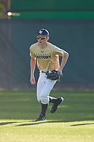 Dustin Parkinson (49), from Rexburg, Idaho, while playing for the Brewers during the Under Armour Baseball Factory Recruiting Classic at Gene Autry Park on December 27, 2017 in Mesa, Arizona. (Zachary Lucy/Four Seam Images)