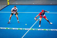Utrecht, The Netherlands,  September 5, 2021,  Jaarbeurs, Decathlon Copa de Padel,  Bram Meijer (NED) and Uriël Maarsen (NED)<br /> Photo: Tennisimages/Henk Koster
