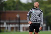 Swansea City's Mike van der Hoorn during the Swansea City Training Session at The Fairwood Training Ground, Wales, UK. Tuesday 14th August 2018