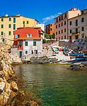 Italien, Toskana, Insel Elba, Marciana Marina: Fischerdorf | Italy, Tuscany, island Elba, Marciana Marina: fishing village