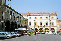 Italy: Ravenna--Palazetto Veneziano in the Piazza Del Popolo. Photo '83.