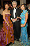 From left: Joan Lu, James Clifton and Christine Starkman at the Museum of Fine Arts gala Friday Oct. 09,2009. (Dave Rossman/For the Chronicle)