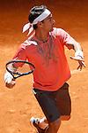 Fabio Fognini, Italy, during Madrid Open Tennis 2015 match.May, 6, 2015.(ALTERPHOTOS/Acero)