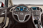 Car pictures of steering wheel view of a 2017 Buick Verano Leather 4 Door Sedan Steering Wheel