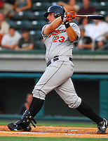 10 Aug 2007: Chris Vinyard of the Delmarva Shorebirds, Class A South Atlantic League affiliate of the Baltimore Orioles, in a game against the Greenville Drive at West End Field in Greenville, S.C. Photo by:  Tom Priddy/Four Seam Images