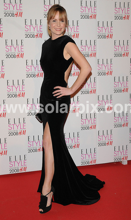**ALL ROUND PICTURES FROM SOLARPIX.COM**.**WORLDWIDE SYNDICATION RIGHTS**.Celebrities arrive for the Elle Style Awards at The Roundhouse, London. 12th February 2008..This pic: Amanda Holden..JOB REF: 5777 ATM     DATE: 12_02_2008.**MUST CREDIT SOLARPIX.COM OR DOUBLE FEE WILL BE CHARGED* *UNDER NO CIRCUMSTANCES IS THIS IMAGE TO BE REPRODUCED FOR ANY ONLINE EDITION WITHOUT PRIOR PERMISSION*