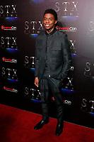 LAS VEGAS - APR 2:  Chadwick Boseman at the 2019 CinemaCon - STX films at Caesars Palace on April 2, 2019 in Las Vegas, NV