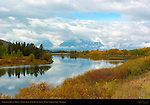 Storm over Mount Moran, Oxbow Bend, Snake River, Grand Teton National Park, Wyoming
