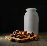 Almonds-Milk<br /> Photo By Adam Scull/PHOTOlink.net